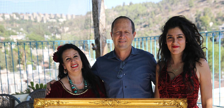 ניר ברקת ראש עיריית ירושלים, מור ושושנה קרבסי הבית העתיק בין כרם | סיורים בעין כרם